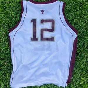 Official Adidas Texas A&M Basketball Jersey